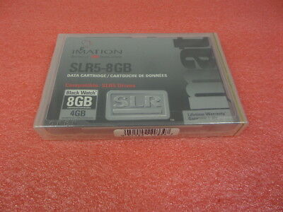 "NEW Imation SLR5 SLR5-8GB 5.25/"" data tape cartridge 11864 Super fast ship"