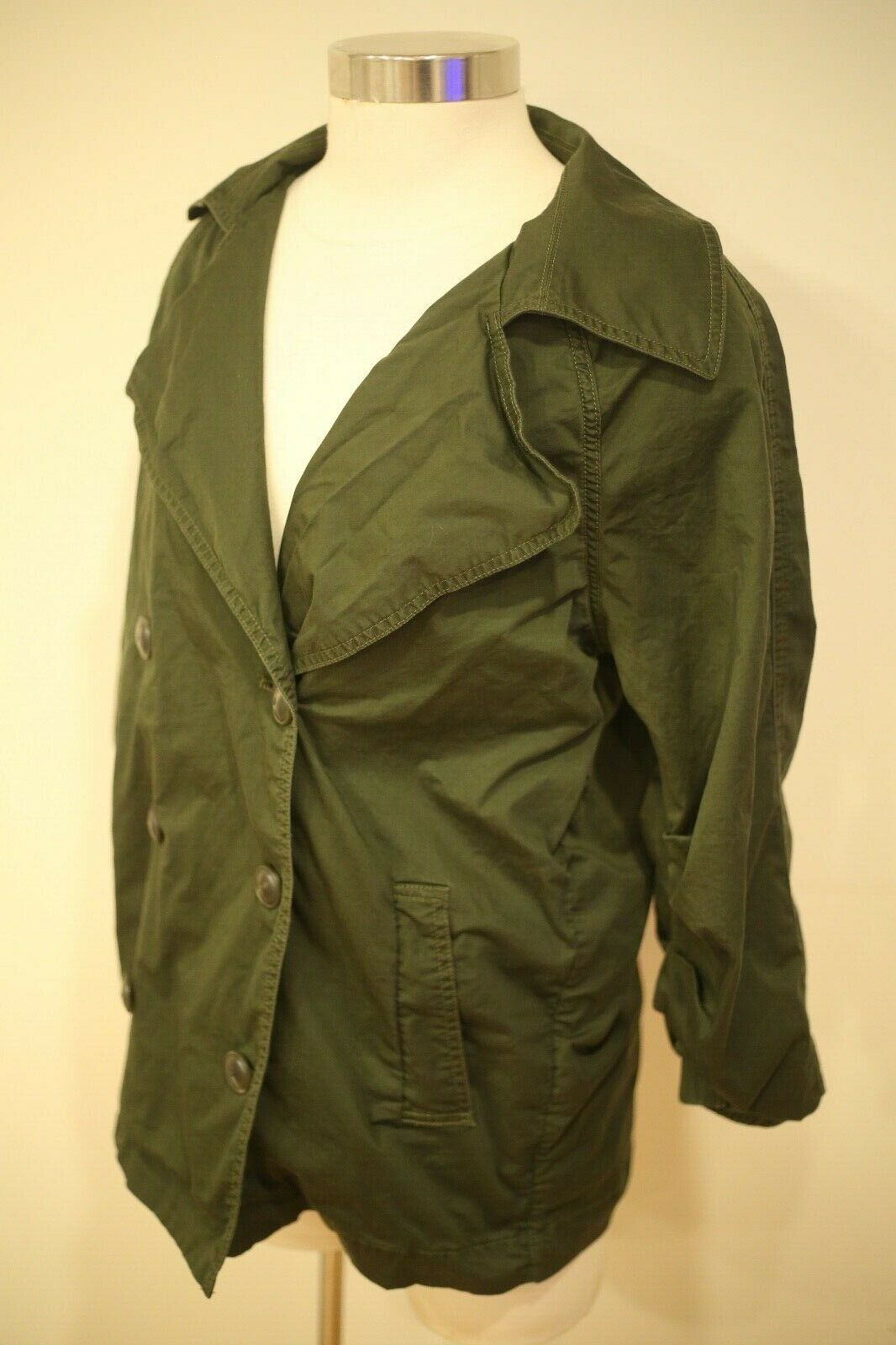 CAbi Women's Small #5478 Expedition Jacket Olive … - image 2