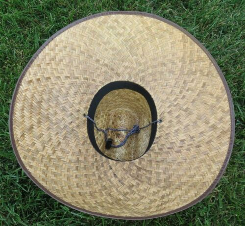 Wholesale Lot Of Straw Hats With Adjustable String One Size Unisex Beach Natural