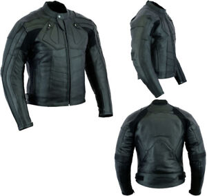 MENS-SPEED-MAXX-PREMIUM-QUALITY-CE-ARMOUR-MOTORBIKE-MOTORCYCLE-LEATHER-JACKET