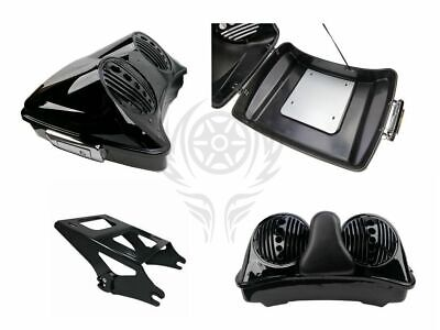 Mutazu Bagger Dual 8 Speaker Lid for Harley Razor Chopped King Tour Pak 2014-UP