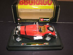 Burago Boxed Mint Model Car  Mercedes Benz SSK 1928 cod 1509 Red and Black - Spilsby, Lincolnshire, United Kingdom - Burago Boxed Mint Model Car  Mercedes Benz SSK 1928 cod 1509 Red and Black - Spilsby, Lincolnshire, United Kingdom