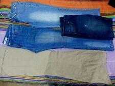 Lotto 309 stock 4 panataloni jeans donna tg.46