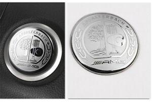 39mm-AMG-Affalterbach-Logo-Benz-Start-Engine-Aufkleber-Sticker-Multimedia-Emblem