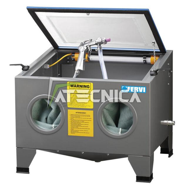 Lijadora de mostrador FERVI 0580 cabina para lijar medida 630x510mm