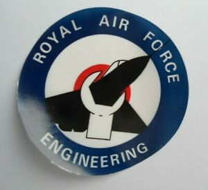 Fan-Aufkleber Royal Air Force Engineering Technology Maintenance