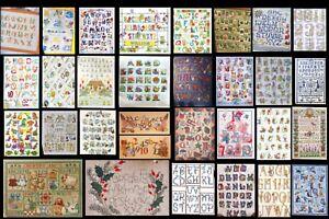 Raccolta 135 Schemi Punto Croce Alfabeti E Numeri Dmc Pasqua Natale