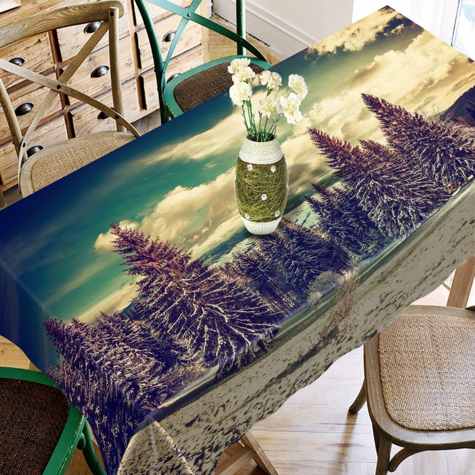 3D Pin 49 Nappe Table Cover Cloth fête d'anniversaire AJ papier peint Royaume-Uni Citron