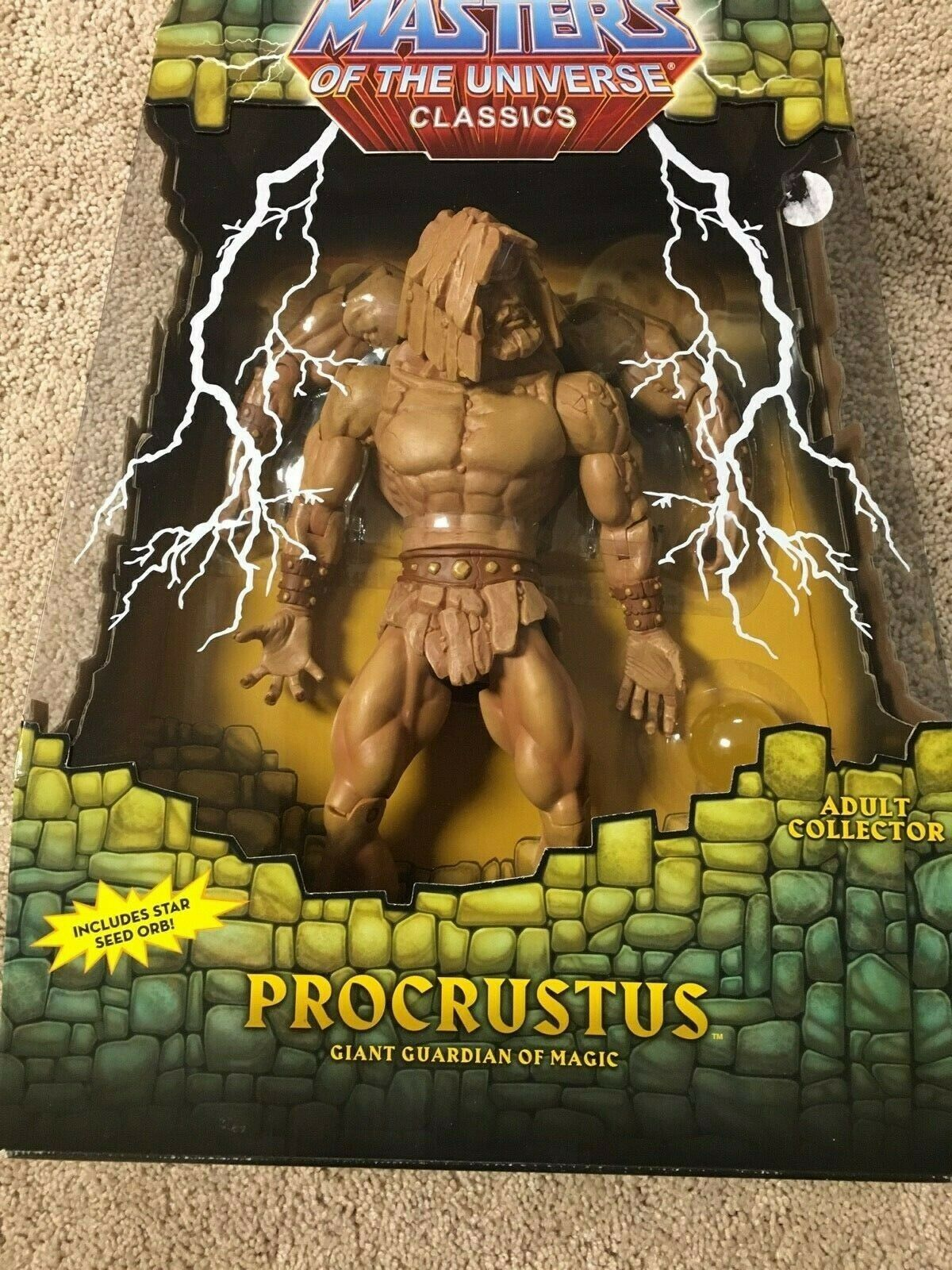MOTUC MASTERS OF  THE UNIVERSE  PROCRUSTUS December 2012  compra meglio