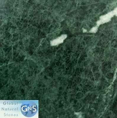 "12"" x 12"" Dark Green Polished Marble Tile - Marble Tile and Floor"