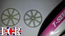 T23 T40C F39  RC HELICOPTER PARTS SPARES UPPER & LOWER GEAR DRIVE WHEEL COG