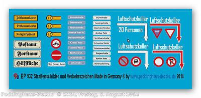 Toys & Hobbies Other Vehicles Logical 1/72 Alemán Verkehrzeichen Y Señales De Tráfico 932