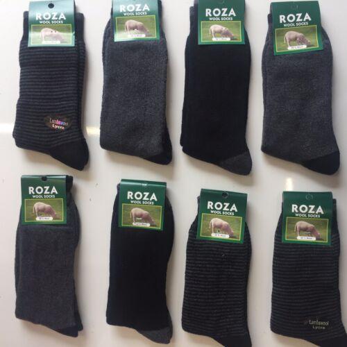 6 pairs MENS LUXURY WOOL BLEND THERMAL SOCKS TICK WALKING BOOT SIZE 6-11 ELAZIG