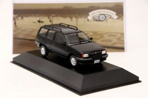 1-43-IXO-Chevrolet-Ipanema-1991-Diecast-Models-Cars-Collection-Black