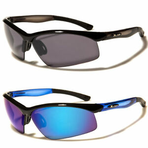 c39dbd4081b7 Mens Mirrored Lens Full Frame Wrap Around Sport Cycling Baseball ...