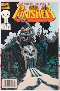 💀 PUNISHER #90 NEWSSTAND VARIANT marvel comics SCARCE HTF LOW PRINT RUN 1987