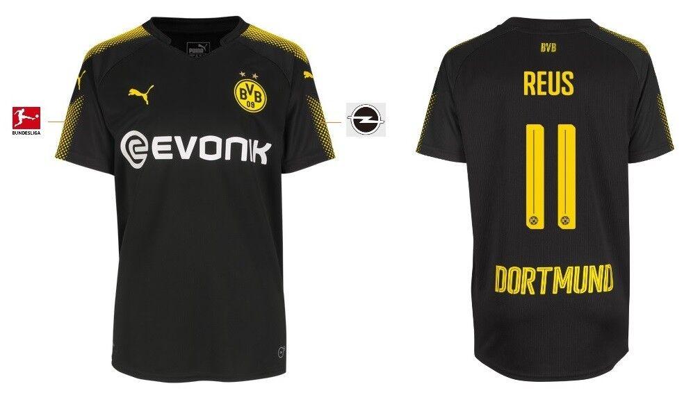 Trikot Puma Borussia Dortmund 2017-2018 Away - Reus 11  BVB Fussball  | Ausgezeichnete Leistung
