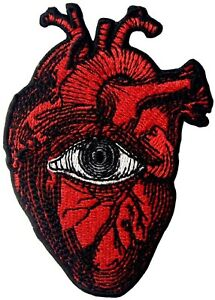 Eye-Heart-Iron-On-Patch-Anatomical-Vision-Surreal-Surrealism-Sight-Seeing-See