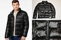 Guess Basic Puffer Jacket Black Winter Coat 2017 100% Original Obo