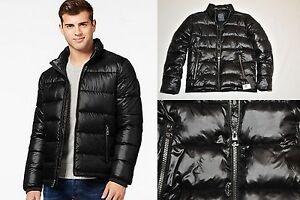 Guess Basic Puffer Jacket Black Winter Coat 2017 New 100