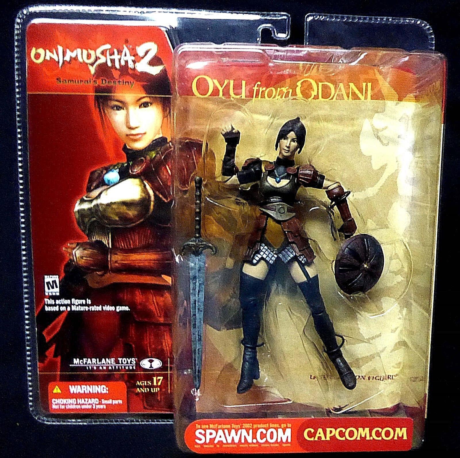 Onimusha 2 Samurai's Destiny Oyu from Odani  Figure McFarlane Toys New 2002