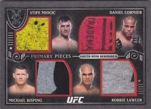 MIOCIC-CORMIER-BISPING-LAWLER-2016-TOPPS-UFC-MUSEUM-PRIMARY-QUAD-RELIC-07-50