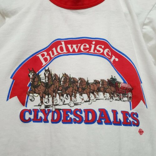 Vintage 70s Stony Creek Budweiser Clydesdales Ring