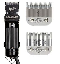 Oster Model 10 Hair Clipper Salon Barber Beauty Classic #1 & 000 Blades included