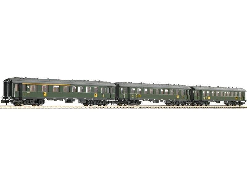 Fleischmann 867710 3tlg. set viajeros-set de la SNCF dc, pista n