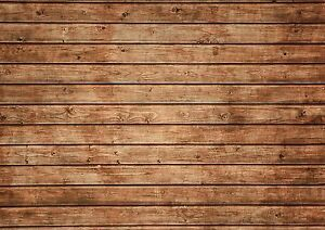 Background Effect A4 Cake Topper Icing Sheet Wood Wooden