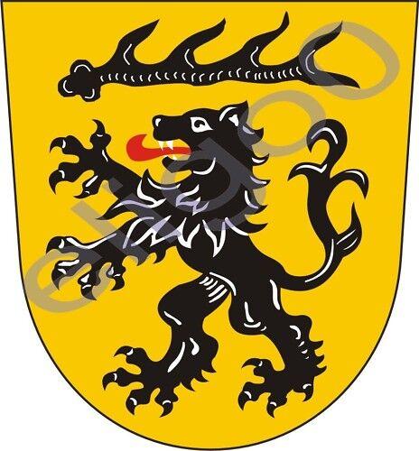 1x STICKER Goppingen Kreis coat of arms GERMANY