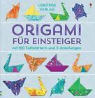 Origami für Einsteiger von Lucy Bowman (2015, Merchandise)