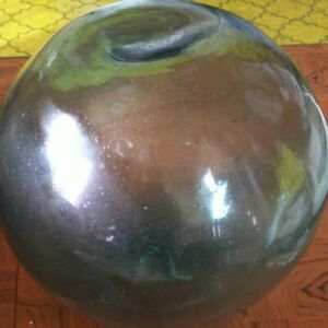 Fishing Float JAPANESE GLASS Outer circumference 1meter 15cm G1363
