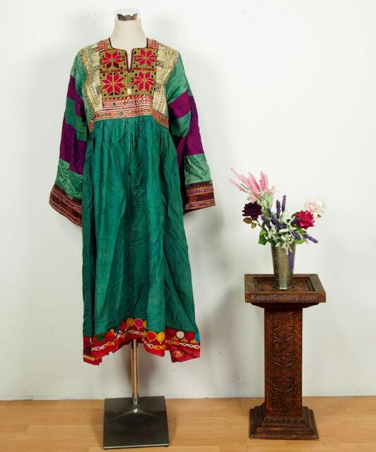 antik Orient Nomaden Tracht afghan kleid Tribaldance afghanistan kuchi dress NR7