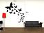 miniature 2 - Adesivo farfalle stickers murale decalcomania composizione primavera vari colori