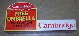 Philip-Morris-PROMO-1994-Cambridge-Cigarettes-UMBRELLA-Ltd-USA-Tobacciana