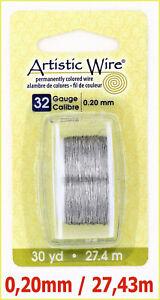 Artistic-Wire-Stahldraht-0-20-mm-Dick-27-43-m-lang