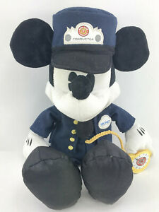 Disney-Parks-Mickey-Mouse-Trolley-Conductor-Plush-Buena-Vista-St