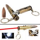 Mens Outdoor 3 in 1 Laser Pointer LED Flashlight Torch Ball Pen Bullet Keychain