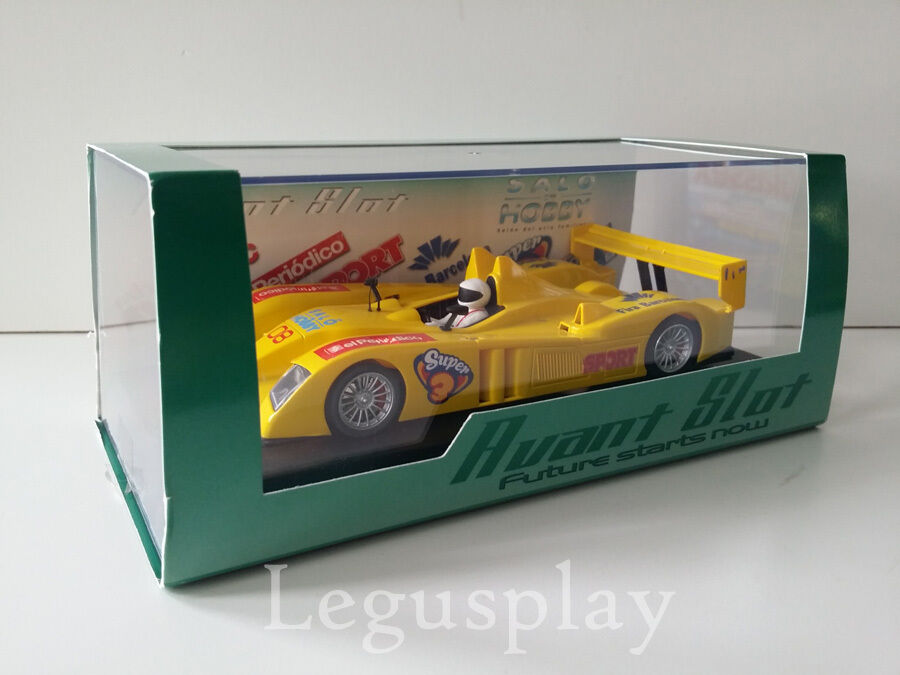 Scx Scalextric Avant Slot 50107 LMP10 Gelb Racing Version Salo von Hobby 2008