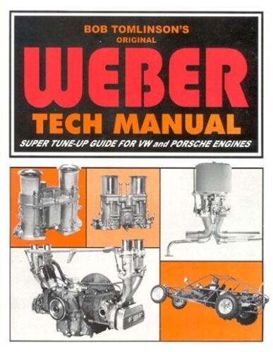 WEBER IDF//IDA TWIN CARBS VW AIRCOOLED ENGINE TUNING BOOK//MANUAL