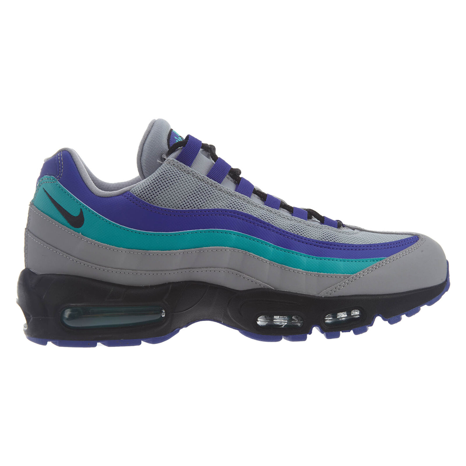 Nike Air Max 95 OG Aqua Mens AT2865-001 Grey Indigo Burst Running shoes Size 9.5
