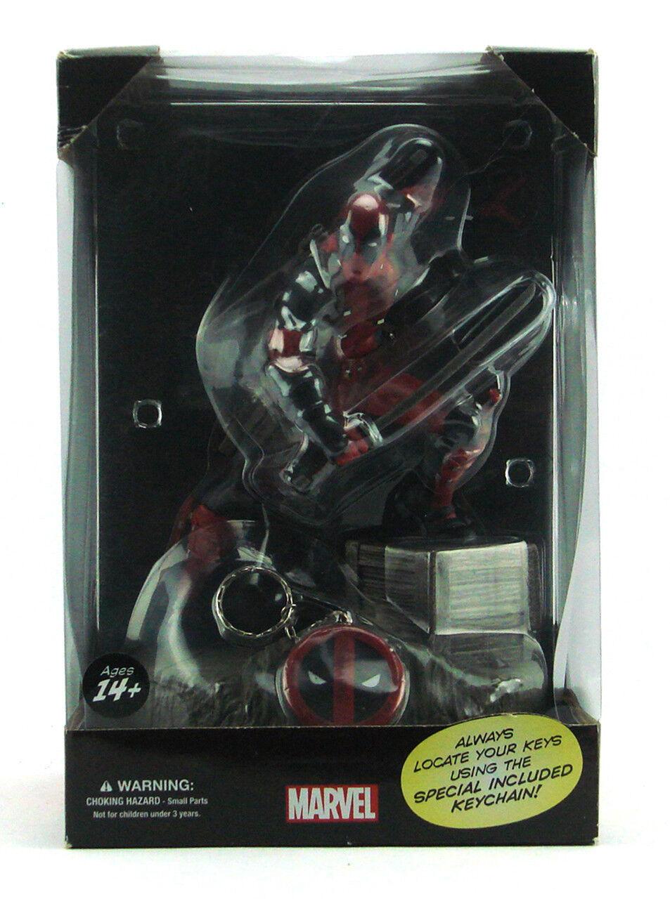 Fr deadpool keypers statue der marvel - comics sammler alter ego new in box