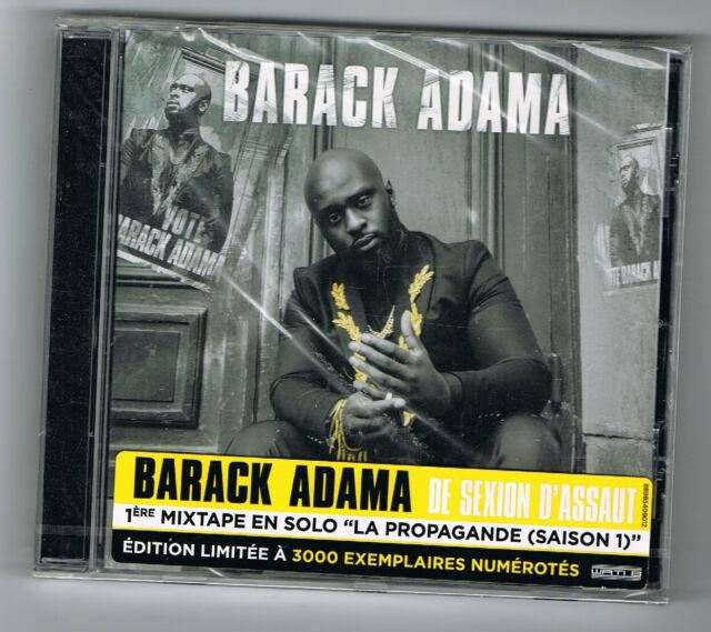 ♫ - BARACK ADAMA - LA PROPAGANDE (SAISON 1) - CD 16 TITRES - 2017 - NEUF NEW - ♫