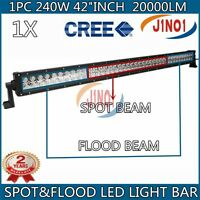 41inch 240w Cree Led Light Bar F/s Combo 20000lm Offroad Suv Atv Truck Jeep 42