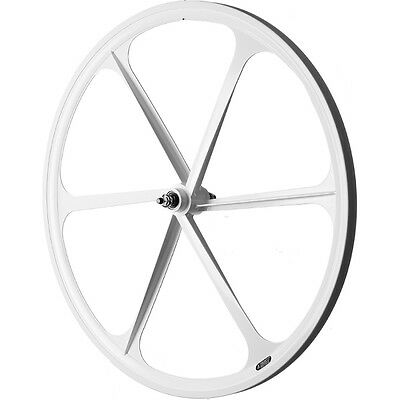 700c Fixie Single Speed Road Bike Wheel Front White