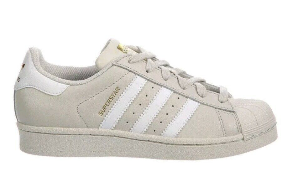 ADIDAS MEN'S ORIGINALS SUPERSTAR FOUNDATION CASUAL SNEAKERS SIZE 8 TALK  BW1304