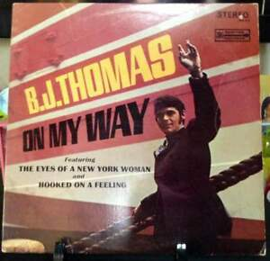 B-J-THOMAS-On-My-Way-Album-Released-1968-Vinyl-Record-Collection-US-pressed