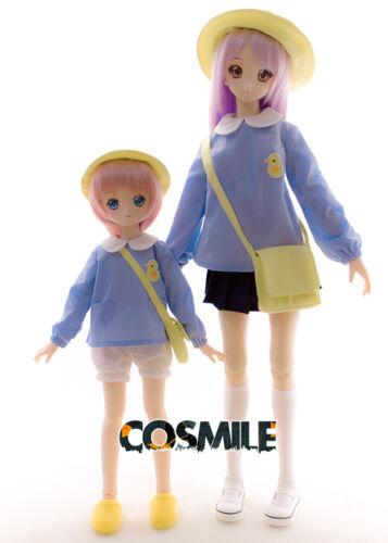 Hat Bag For SD DD MDD 1//3 1//4 BJD Doll Cosplay Accessory Kindergarten Costume
