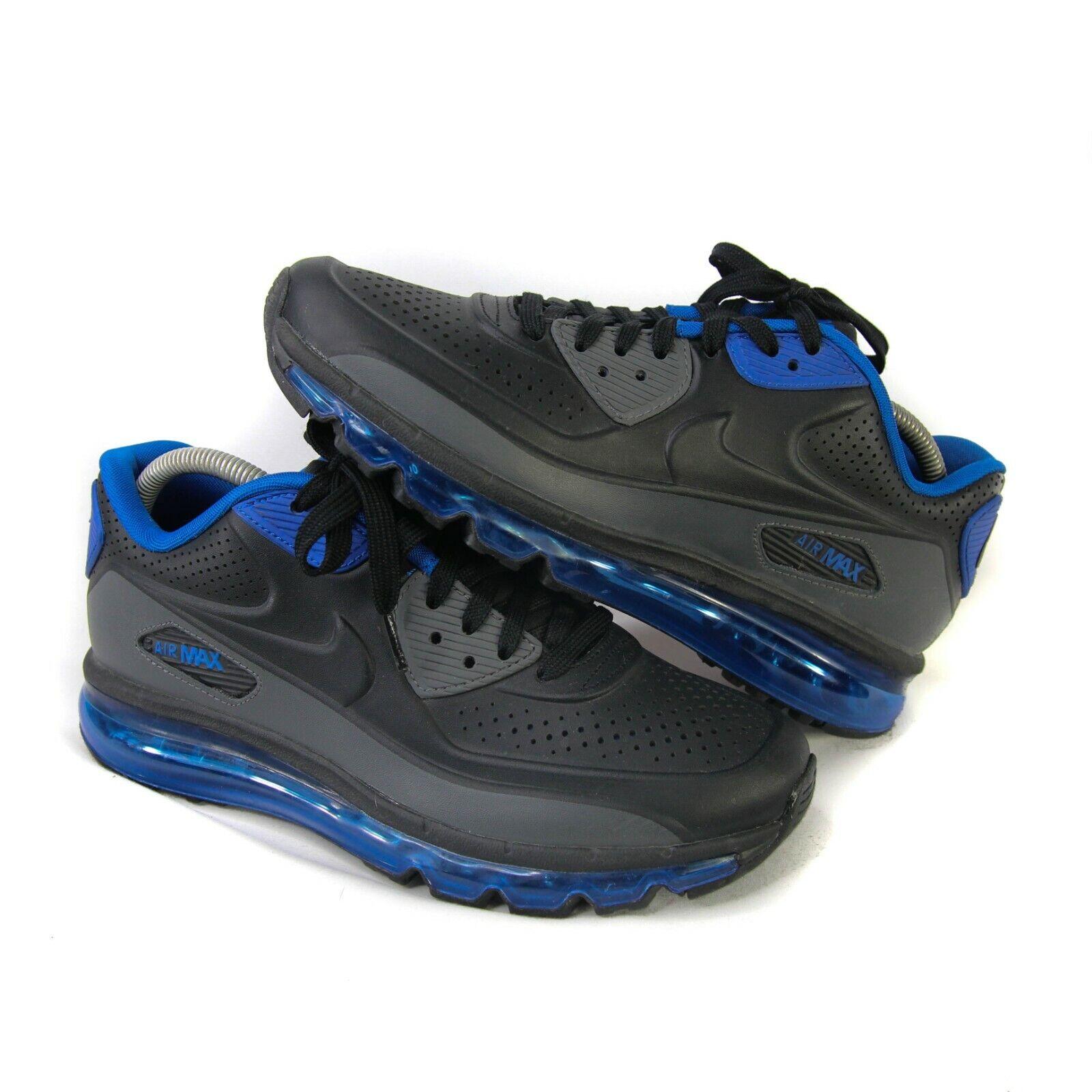 Nike Air Max 90s LTR GS Mens 8 Running shoes 2014 bluee Black